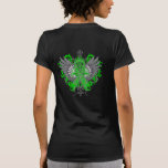 Spinal Cord Injury Awareness Wings Tshirt