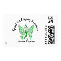 Spinal Cord Injury Butterfly 6.1 Postage