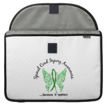Spinal Cord Injury Butterfly 6.1 Sleeve For MacBook Pro