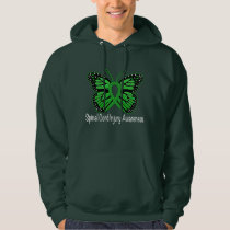 Spinal Cord Injury Butterfly Awareness Ribbon Hoodie