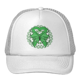 Spinal Cord Injury Butterfly Circle of Ribbons Hats