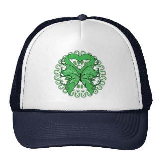 Spinal Cord Injury Butterfly Circle of Ribbons Trucker Hat