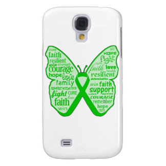 Spinal Cord Injury Butterfly Ribbon Galaxy S4 Covers