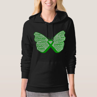 Spinal Cord Injury Butterfly Ribbon Hooded Pullover