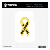 Spinal Cord Injury Decal For iPod Touch 4G