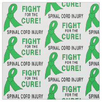 Spinal Cord Injury Fight for the Cure Fabric