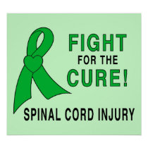 Spinal Cord Injury Fight for the Cure Poster