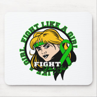 Spinal Cord Injury Fight Like A Girl Attitude Mouse Pad