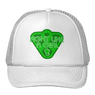 Spinal Cord Injury Fight Like A Girl Glove Mesh Hats