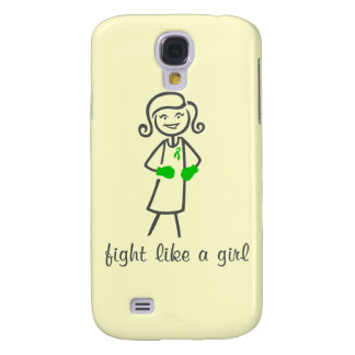 Spinal Cord Injury Fight Like A Girl (Retro) Samsung Galaxy S4 Cover