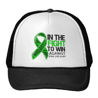 Spinal Cord Injury - Fight To Win Mesh Hat