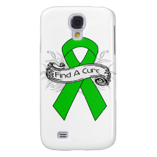 Spinal Cord Injury Find A Cure Ribbon Galaxy S4 Cases