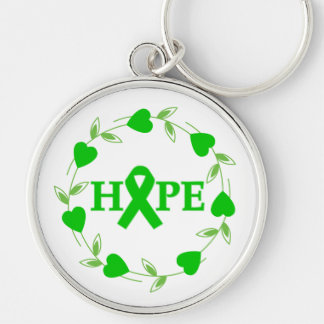 Spinal Cord Injury Hearts of Hope Keychains