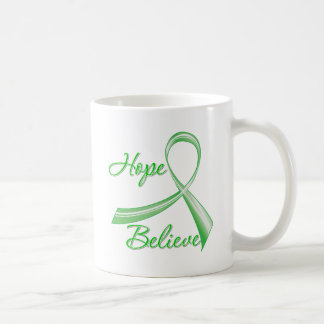 Spinal Cord Injury - Hope Believe Coffee Mugs