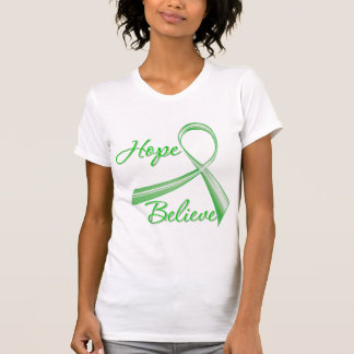 Spinal Cord Injury - Hope Believe Tee Shirts