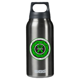 Spinal Cord Injury Hope Intertwined Ribbon Insulated Water Bottle