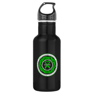 Spinal Cord Injury Hope Intertwined Ribbon Stainless Steel Water Bottle