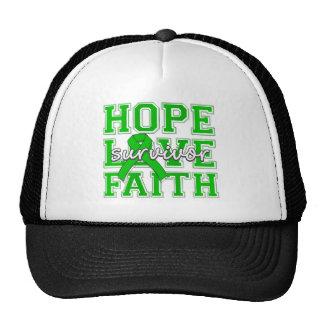 Spinal Cord Injury Hope Love Faith Survivor Hat