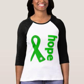 Spinal Cord Injury Hope Ribbon T-shirt