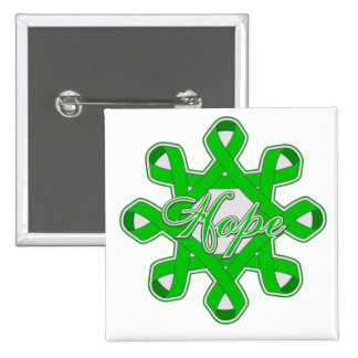 Spinal Cord Injury Hope Unity Ribbons 2 Inch Square Button