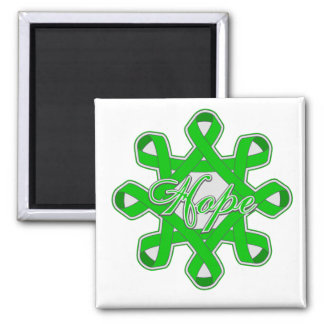 Spinal Cord Injury Hope Unity Ribbons Fridge Magnets
