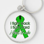 Spinal Cord Injury I Fight Back Key Chains