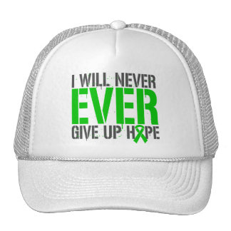 Spinal Cord Injury I Will Never Ever Give Up Hope Trucker Hats