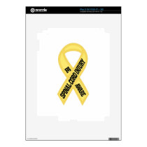Spinal Cord Injury iPad 2 Decal