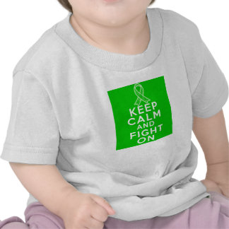 Spinal Cord Injury Keep Calm and Fight On Tees
