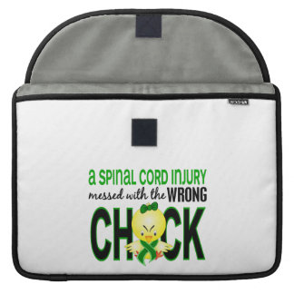 Spinal Cord Injury Messed With Wrong Chick Sleeves For MacBooks