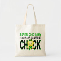 Spinal Cord Injury Messed With Wrong Chick Tote Bag