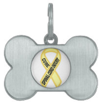Spinal Cord Injury Pet Tag