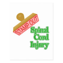 Spinal Cord Injury Postcard