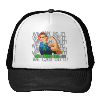 Spinal Cord Injury Rosie WE CAN DO IT Mesh Hat