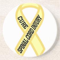 Spinal Cord Injury Sandstone Coaster