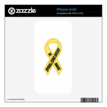 Spinal Cord Injury Skin For The iPhone 4S