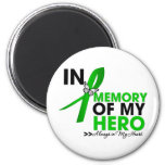 Spinal Cord Injury Tribute In Memory of My Hero Refrigerator Magnets