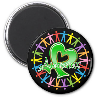 Spinal Cord Injury Unite in Awareness 2 Inch Round Magnet