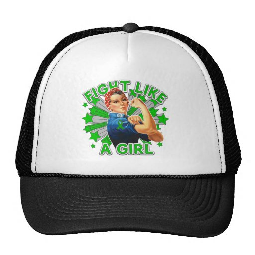 Spinal Cord Injury Vintage Rosie Fight Like A Girl Trucker Hat
