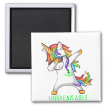 SPINAL CORD INJURY Warrior Unbreakable Magnet