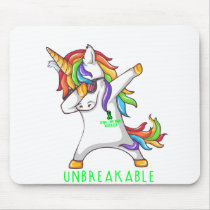 SPINAL CORD INJURY Warrior Unbreakable Mouse Pad