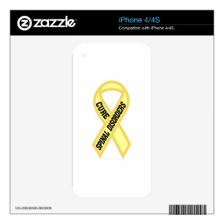 Spinal Disorder Decal For The iPhone 4S