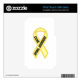 Spinal Disorder iPod Touch 4G Decal