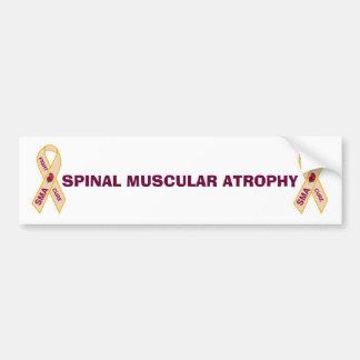 SPINAL MUSCULAR ATROPHY STICKER BUMPER STICKERS