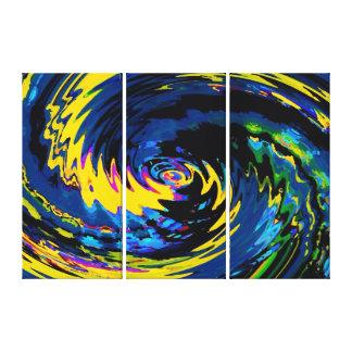 Spinart! Cosmic Schizophrenia Canvas Print