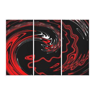 Spinart! Devil's Hand Canvas Print