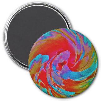 Spinart! Fluorescing Floral Magnet