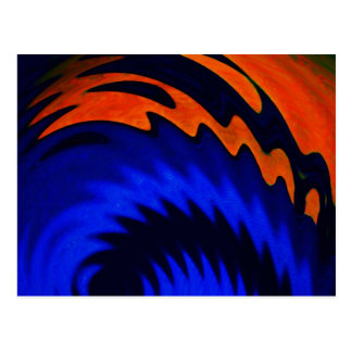 Spinart! Stellar Claw Postcard