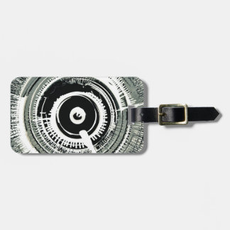 Spinart! Super Nova Black Luggage Tag