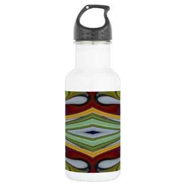 McTiffany Tiffany Aqua Spinart! Tiffany Split Water Bottle